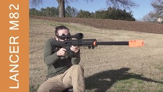 Lancer Tactical M82 Sniper Rifle - Airsoft Review