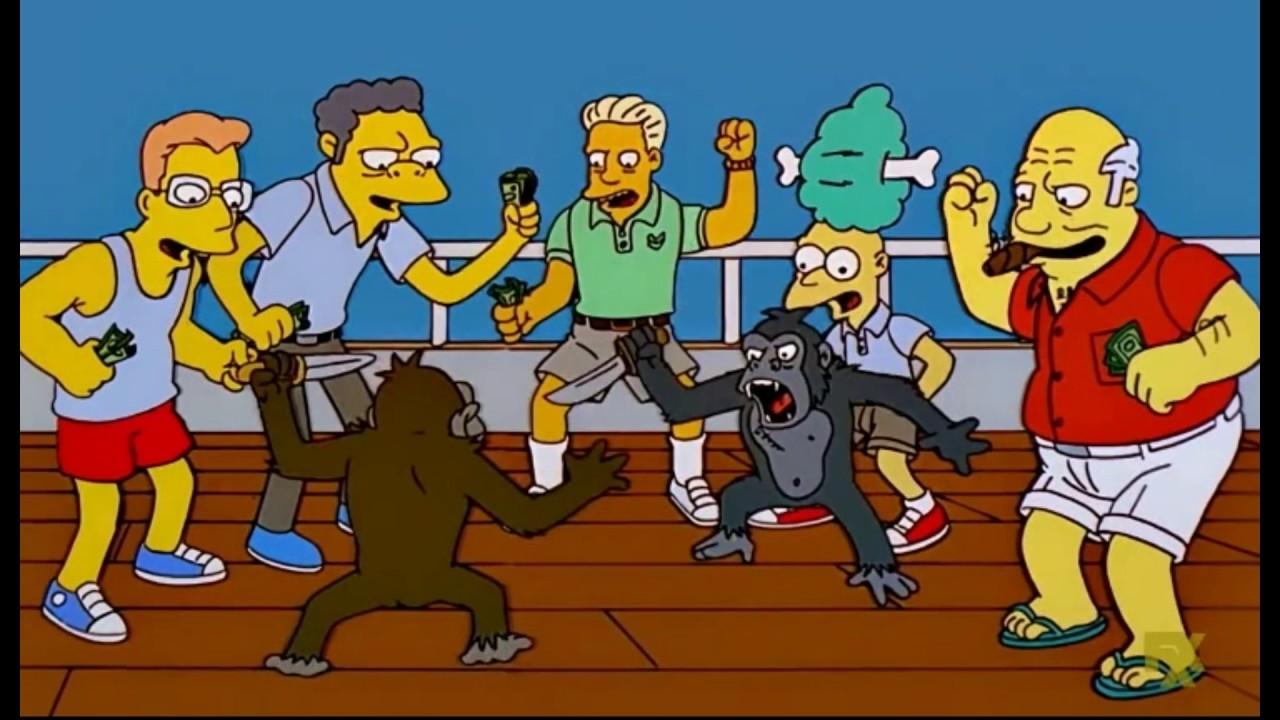 Resultado de imagen para pelea de monos