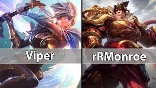 [ Viper ] Riven vs Garen [ rRMonroe ] Top - Viper Riven Stream Comback