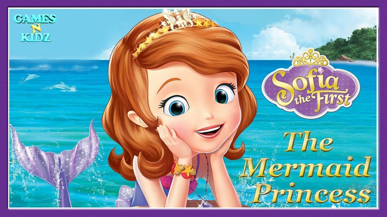 Sofia The First  The Mermaid Princess