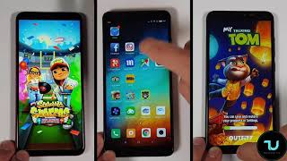 Umidigi F1 vs Xiaomi Redmi Note 5 vs Redmi Note 6 Pro Speed test/Gaming comparison PUBG