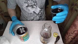 масло для дерева ,своими руками