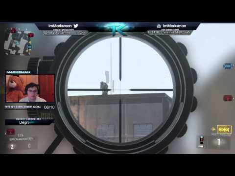 OVERKILL IS AMAZING! SICK Sniping + BAL (AW SnD)