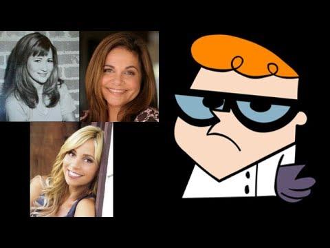 Animated Voice Comparison Dexter Dexter Lab