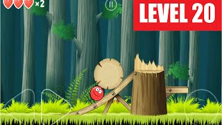 red Ball 4 - Level 20 - Walkthrough - iOS Version