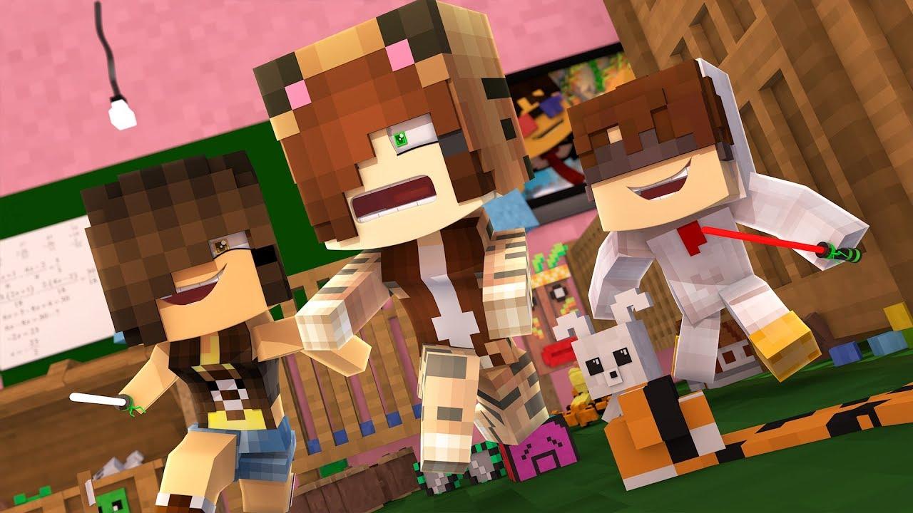 Minecraft Daycare - KILLING TINA !? (Minecraft Roleplay ...