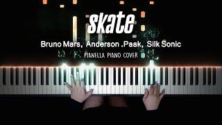 Bruno Mars, Anderson .Paak, Silk Sonic - Skate | Piano Cover by Pianella Piano видео