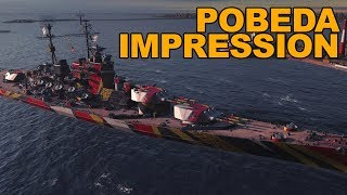 Pobeda(Slava) Impression - World of Warships