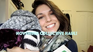 Collective Try ON Haul Nov2014 - Thrift, free people, sephora and more Thumbnail