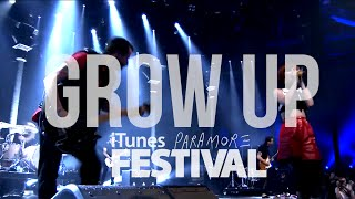 Paramore Grow Up Live Itunes Festival 2013- Hd