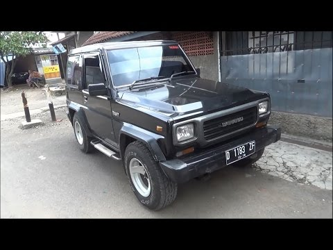 Review Daihatsu Taft GT 4x4 1993