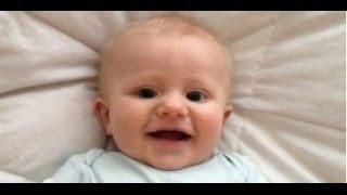 Cute Baby Gurgles