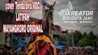 COVER TENDA BIRU VOC. LATIFAH MAYANGKORO ORIGINAL LIVE KUWIK KUNJANG
