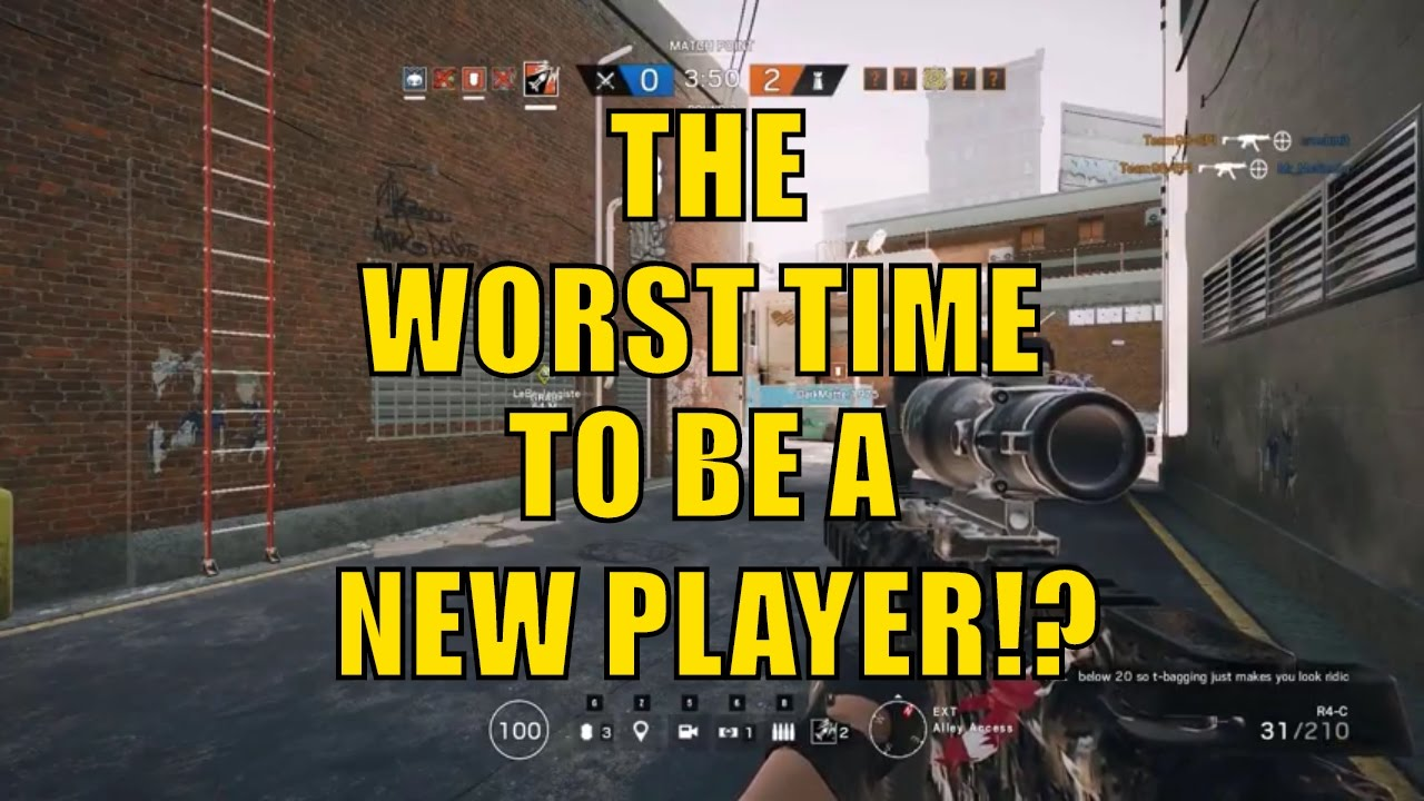 Rainbow Six Siege - Worst Time To Be A NEW Player!?