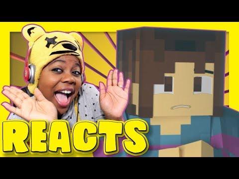 Hard Drive | Minecraft Undertale Music Video | EnchantedMob™ Reaction | AyChristene Reacts