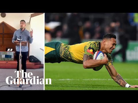 Israel Folau Settles Legal Case With Rugby Australia And