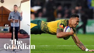 Israel Folau Implies Bushfires Are God's Punishment For Same Sex Marriage