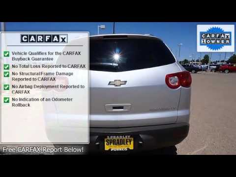 2011 Chevrolet Traverse Spradley Chevrolet Hyundai Pueblo Co 81008 A17764