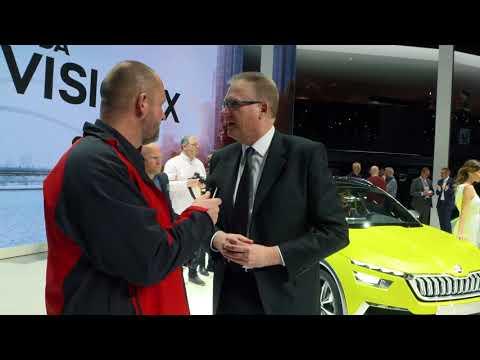 Geneva 2018 - Design study Skoda Vision X celebrates world premiere