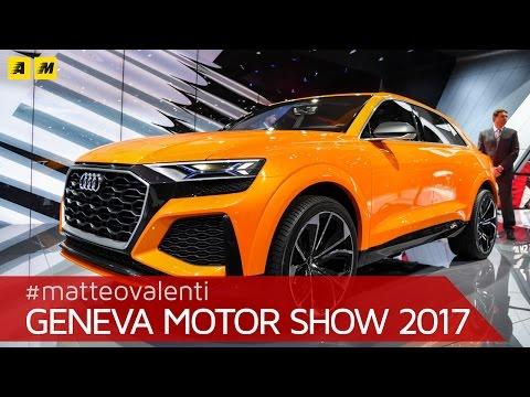 Audi Q8 Sport Concept, la rivale della X6 | Salone di Ginevra 2017