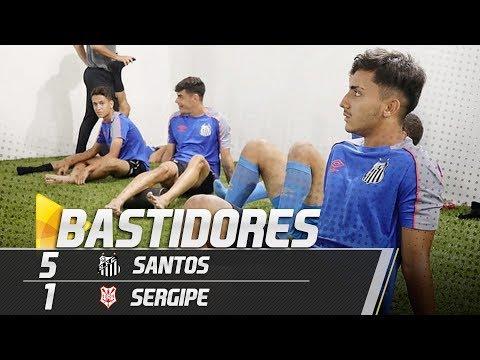 Santos 5 x 1 Sergipe | BASTIDORES | Copa SP (04/01/19)