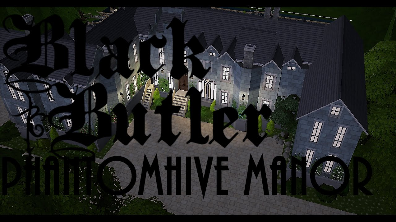 Building The Phantomhive Manor Sims 4 Speed Build