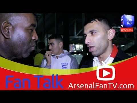 Arsenal 1 Borussia Dortmund 2 - The Fans Are Behind The Team - ArsenalFanTV.com