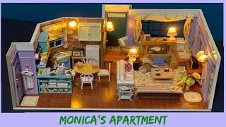 DIY Miniature Dollhouse - F•R•I•E•N•D•S Monica's Apartment