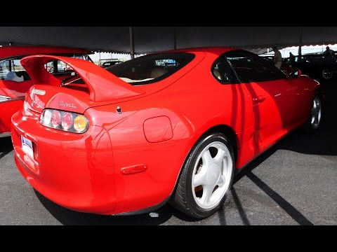 1994 Toyota Supra Twin Turbo 2016 Auctions America Auburn Fall Collector Car Weekend