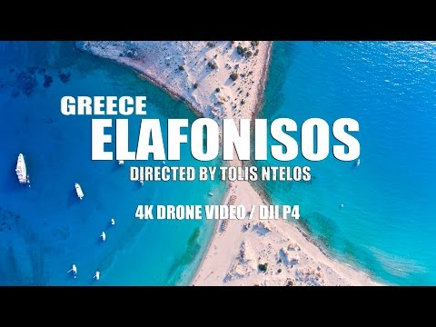 Greece - Elafonisos in 4K | Aerials 4K Drone /2016