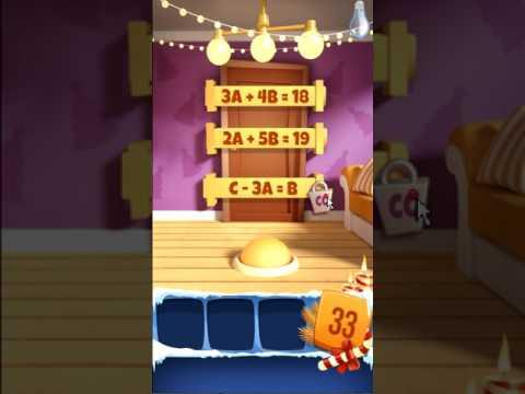 Как пройти 33 уровень в игре 100 дверей