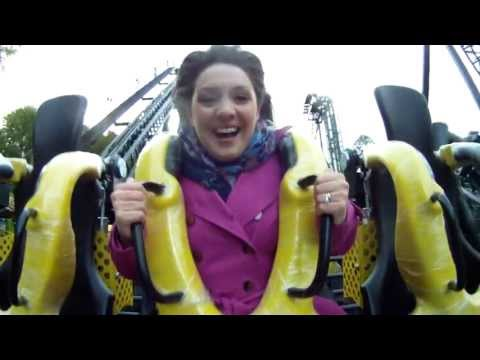 First rider of The Smiler !