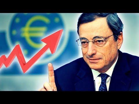 POURQUOI L'EURO/DOLLAR BAISSE? Mes Prévisions Après La Conférence De MARIO DRAGHI