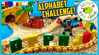 ALPHABET TOY CHALLENGE WITH AUNT HOOD! Thomas and Friends Fun Toy Trains for Kids!