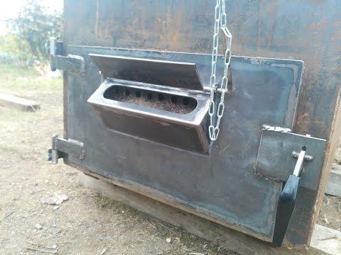 видео: Твердотпливный котел шахтного типа с теплоаккумулятором.