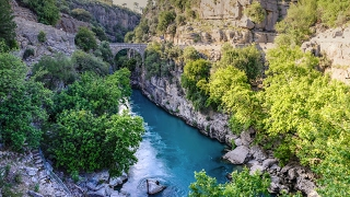 Поход по каньону Кёпрюлю (Köprülü Kanyon) во время отдыха в Анталии(http://photo-and-travels.ru/koprulu-kanyon-i-otdyh-v-antalii/ Видео используется в отчете о самостоятельном путешествии по Турции..., 2016-08-20T14:55:12.000Z)