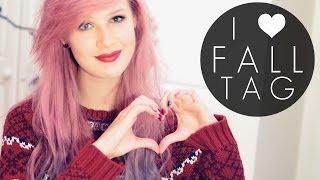 I Heart Fall (Autumn) Tag Thumbnail