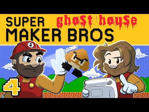 New Super Mario Maker | Let's Play Ep. 4 | Super Beard Bros.