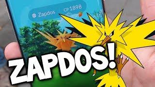 ZAPDOS, ZAPDOS, ZAPDOS! - THE MOST FUN POKEMON GO RAID BOSS!