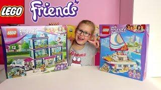 LEGO FRIENDS Szpital w Heartlake 41318 i Słoneczny Katamaran 41317