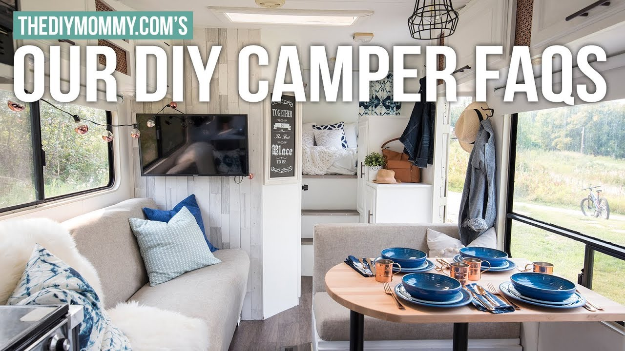Our DIY Camper FAQs & My Renovation Show Appearance! | The ...