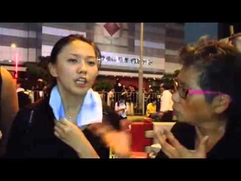 四叉貓帶鄉民挺佔中 蘋果日報 2014 09 30 - YouTube