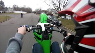 2004 ttr90e 2015 kx85 Street Ride