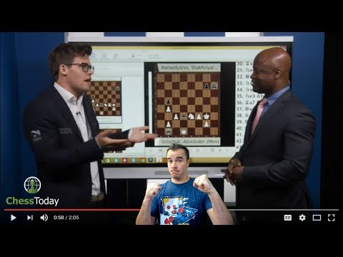 Chess Today: June 26th 2017 | Magnus Carlsen vs Maurice Ashley
