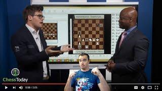 Chess Today: June 26th 2017 | Magnus Carlsen vs Maurice Ashley