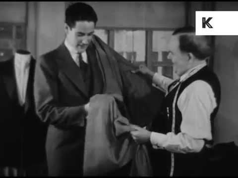 1930s Man Vs Woman's Interest in Fabrics, Gender Stereotypes
