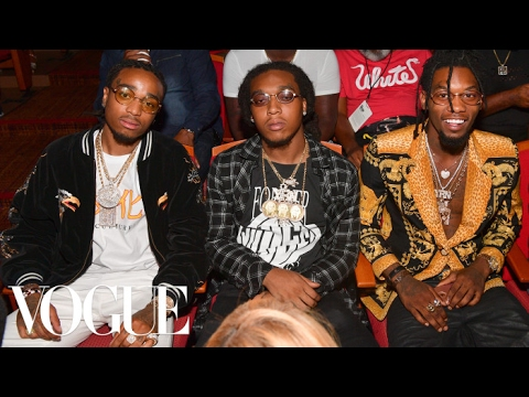 Migos Talk Atlanta, Versace, and Time Travel | Vogue