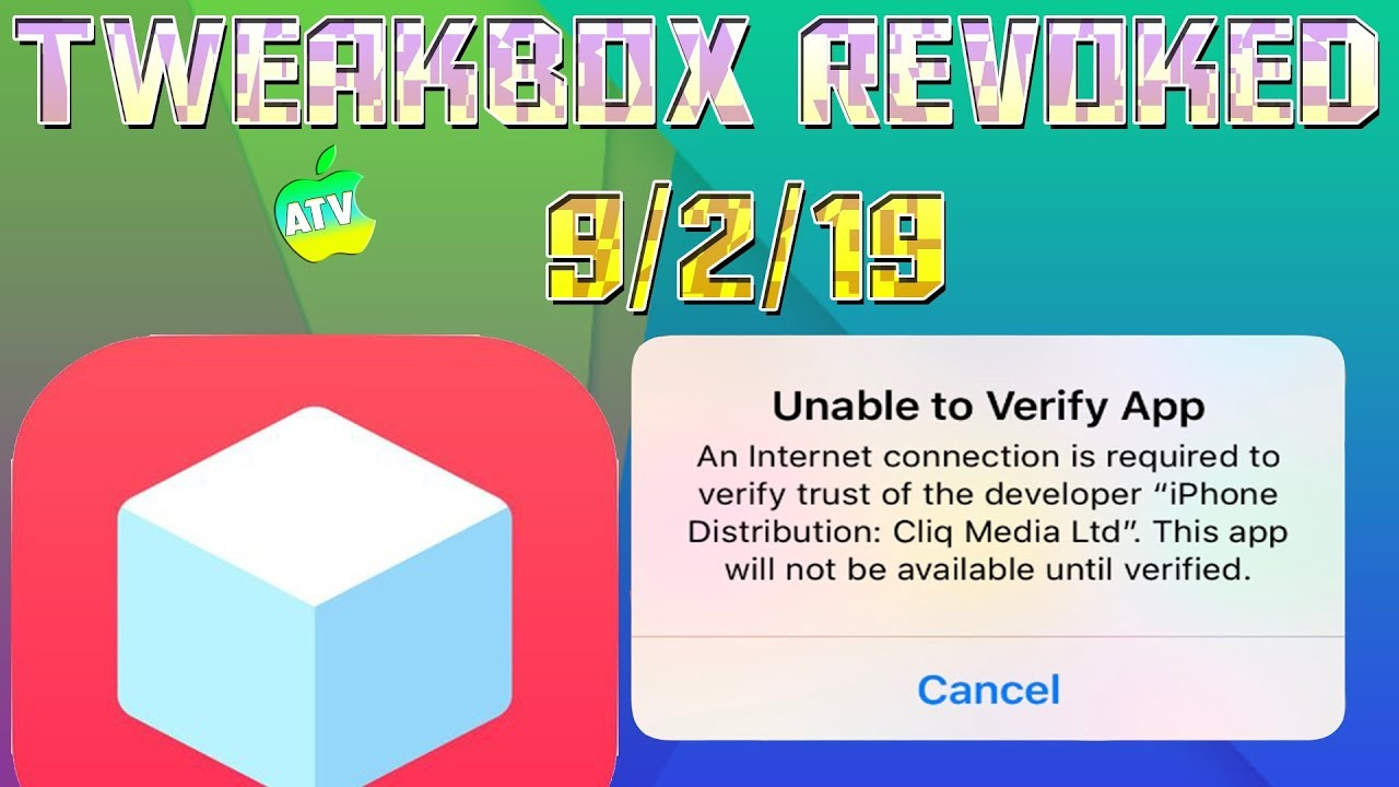 Why Can't I Install Apps From Tweakbox/AppValley/Ignition?/Untrusted  Enterprise Developer Error?