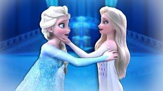 IF Elsa blue dress MEETS Elsa White dress