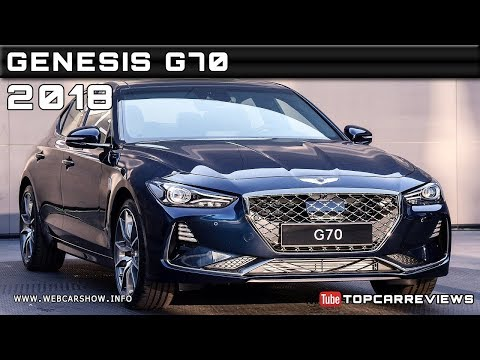 2018 GENESIS G70 Review Rendered Price Specs Release Date